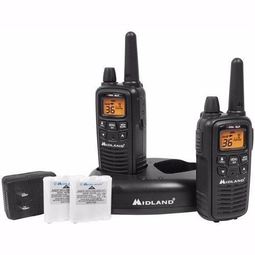 Lxt-600vp3 Midland Radio Gmrs Con Noaa Paquete 2 Radios