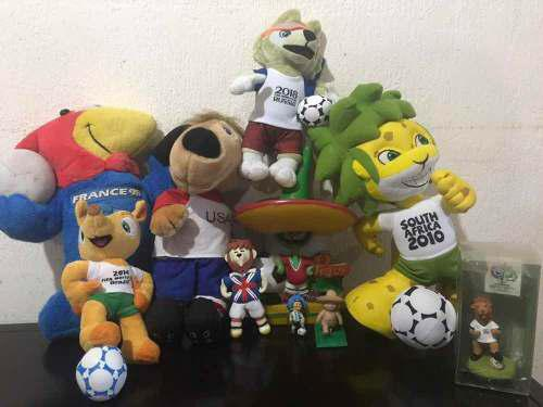 Mascotas Del Mundial De Futbol Soccer Fifa Copa Del Mundo