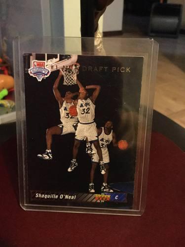 Michael Jordan - Shaquille Oneal Tarjeta Upper Deck 92-93