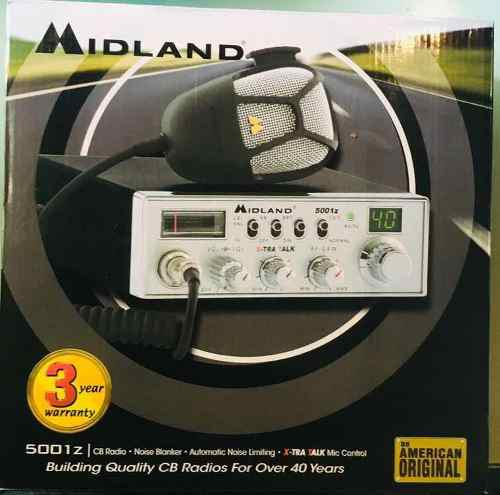 Midland 5001z Radio Cb 4 Watts 40 Canales De Línea Nuevo!