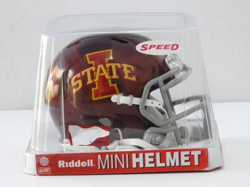 Mini Casco Colegial Iowa State Riddell Ncaa