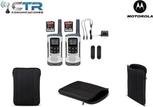 Motorola T260mc 40 Km Maletin Alto Impacto.