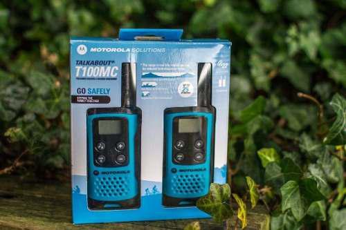 Motorola Talkabout T100 Radio 16 Millas 22 Canales Nuevo!
