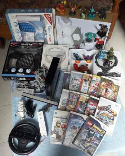 Paquete De Wii En Excelentes Condiciones