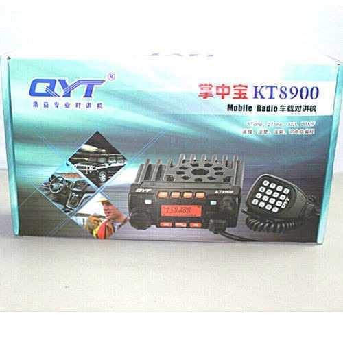 Qyt Kt-8900 Radio Móvil Dualbanda Vhf Y Uhf 136-174/400-480