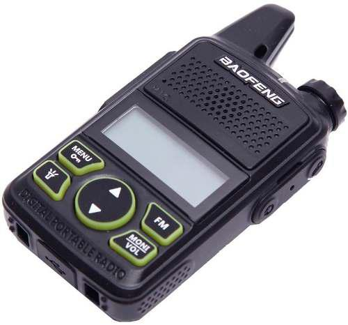 Radio Baofeng Bf-t1 Mini Walkie Talkie Dual Recargable Ptt
