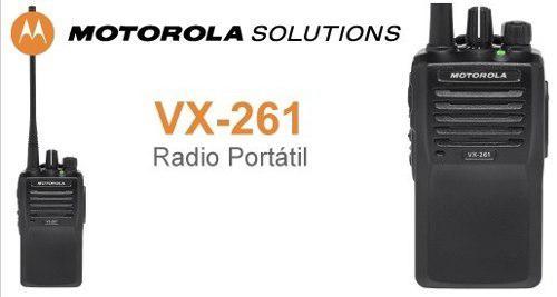 Radio Portatil Motorola Vx261 Vhf Nuevo 5w
