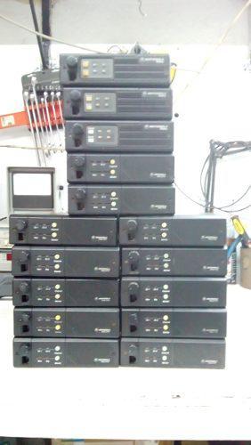Radios Motorola M120 2 Canales 45 Watts Lote 15 Equipos