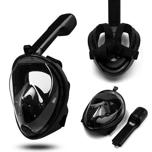 Snorkel Mask Easy Breath Accesorio Gopro Buceo Playa