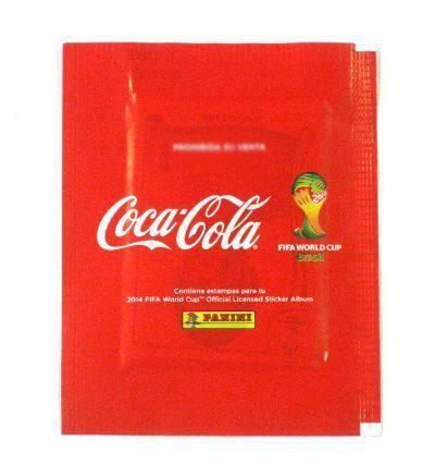 Sobres México Coca Cola Album Panini Mundial Brasil 2014