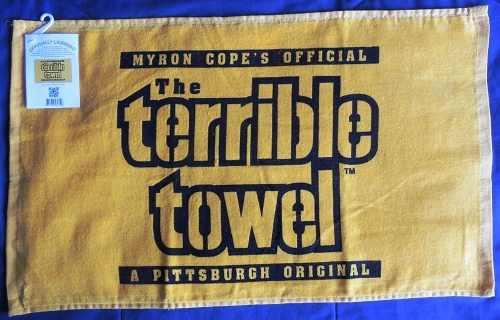 Toalla Terrible Modelo Clásico Acereros Pittsburgh Nfl