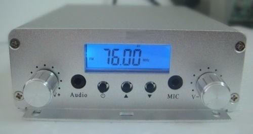 Transmisor Radio Fm 20 Watts 16 Mts De Cable Envio Gratis
