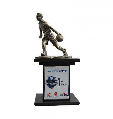 Trofeo Deportivo Basquetball Personalizable A Tu Evento