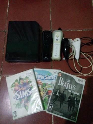 Wii Con 2 Controles Y 3 Juegos
