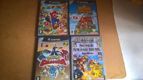 4 Juegos De Game Cube Version Pal