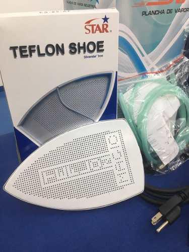 6 Pzs Zapato De Teflon 0.6mm P/ Plancha De Vapor Industrial