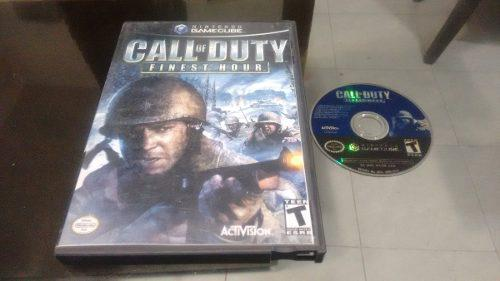 Call Of Duty Finest Hour Sin Instructivo Nintendo Game Cube