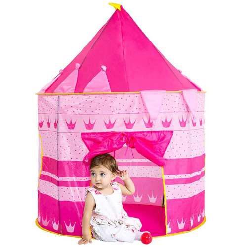 Castillo / Casa De Juego Portátil Para Niñas Princesas