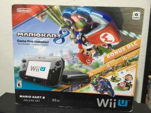 Consola Nintendo Wii U Mario Kart 8 Deluxe Set