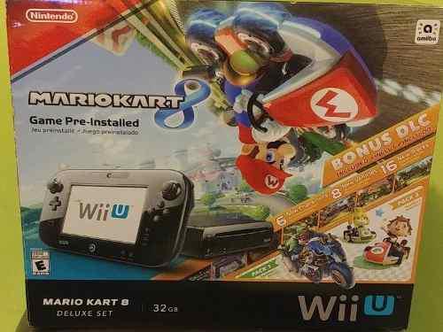 Consola Wii U De 32 Gb Versión De Lujo