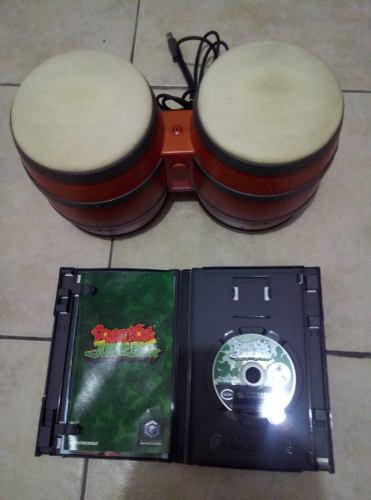 Donkey Kong Jungle Beat Con Bongos Incluidos En Buen Estado