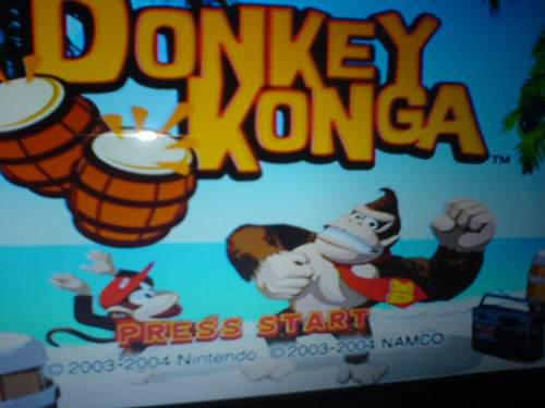 Donkey Konga De Game Cube Compatible Con Wii