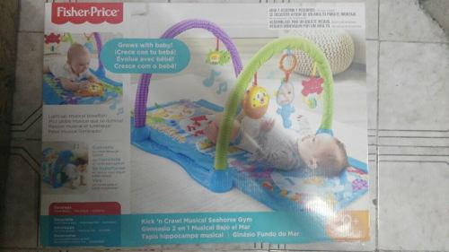 Gimnasio 2 En 1 Musical Bajo El Mar De Fisher Price