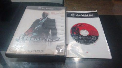 Hitman 2 Silent Assassins Sin Instructivo Nintendo Game Cube