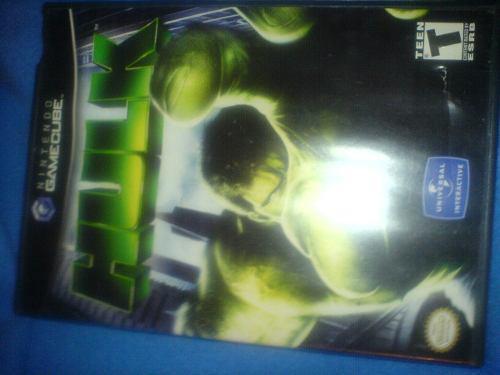 Hulk Juego De Game Cube Excelentes Condiciones