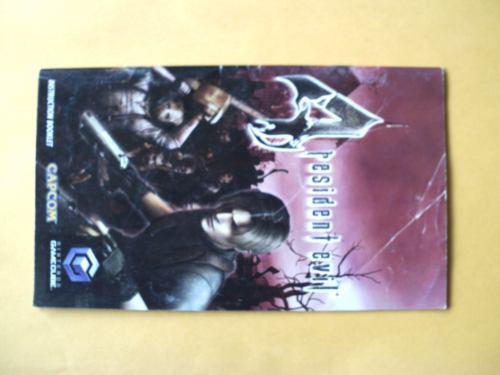 Instructivo Para Juego Resident Evil 4