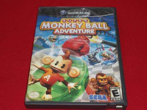 Longaniza Games * Game Cube Super Monkey Ball Adventure