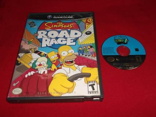 Longaniza Games * Game Cube The Simpsons Road N Rage