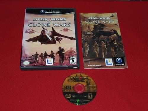 Longaniza Games * Gamecube Star Wars: Clone Wars