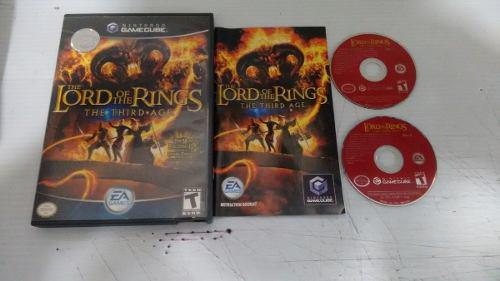 Lord Of The Ring The Third Age Completo Nintendo Game Cube
