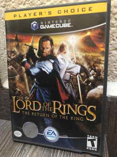 Lord Of The Rings Retorno Del Rey Señor De Los Anillos