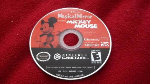 Magical Mirror Starring Mickey Mouse. Gamecube. Solo Disco.