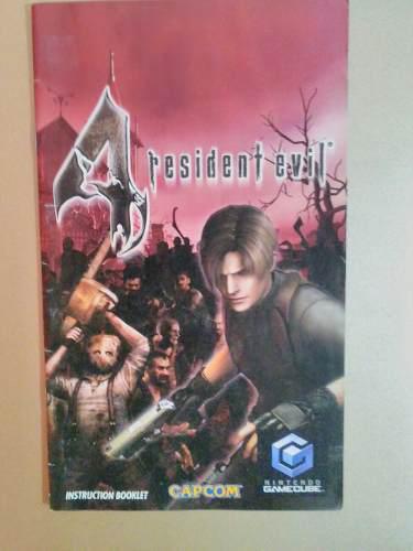 Manual Resident Evil 4 Gamecube
