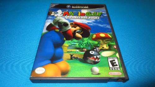 Mario Golf Toadstool Tour Gamecube *cd En Muy Buen Estado*