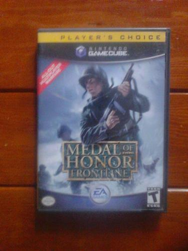 Medal Of Honor Frontline Para Nintendo Game Cube Baratoo!!!!