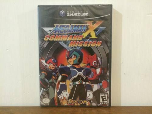 Mega Man X Command Mission Nintendo Gamecube Nuevo Y Sellado