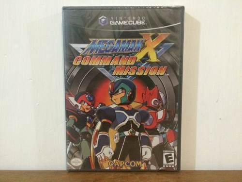 Mega Man X Command Mission Para Nintendo Gamecube Nuevo