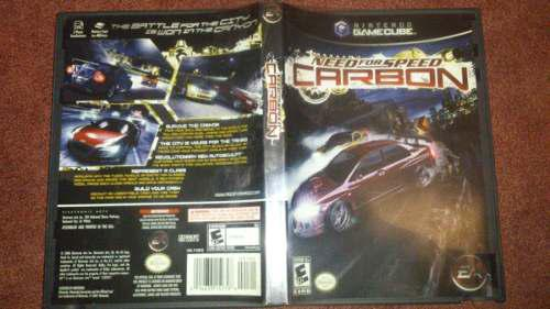 Need For Speed Carbon Para Game Cube