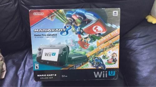 Nintendo Wii U Consola Mario Kart 8 Deluxe Con 32 Gb