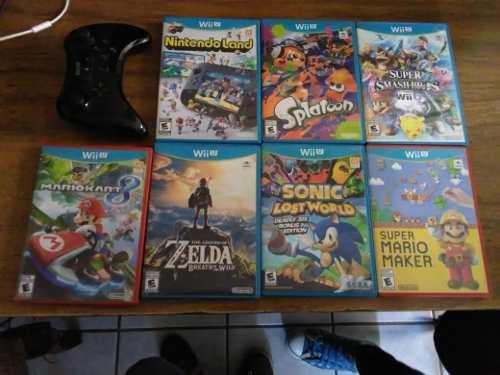 Nintendo Wii U Edicion Mario Kart 8 + 5 Juegos