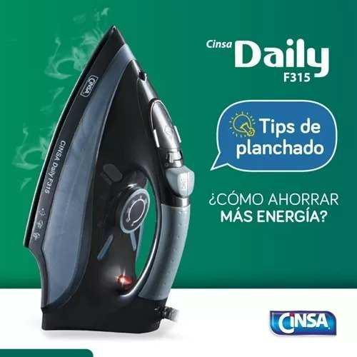 Plancha De Vapor Cinsa Daily F315 Tecnología De Cerámica