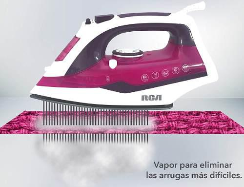 Plancha Vapor Rca 3 Colores Anti-goteo 1200 W Rojo Azul Rosa