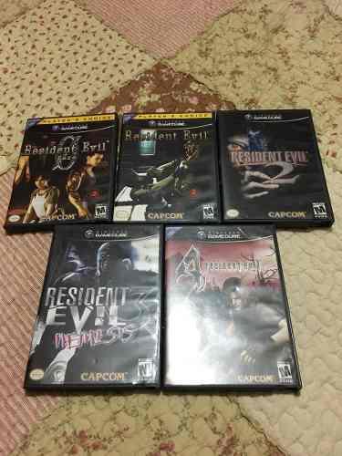 Pongo A La Venta Juegos De Resident Evil Para Cubo