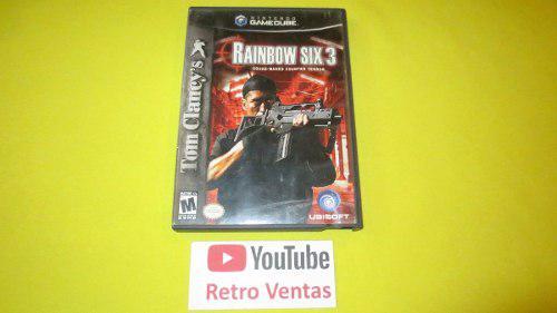 Rainbow Six 3 Gamecube Gc Game Cube