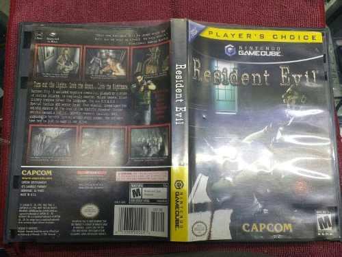 Resident Evil 1 De Game Cube