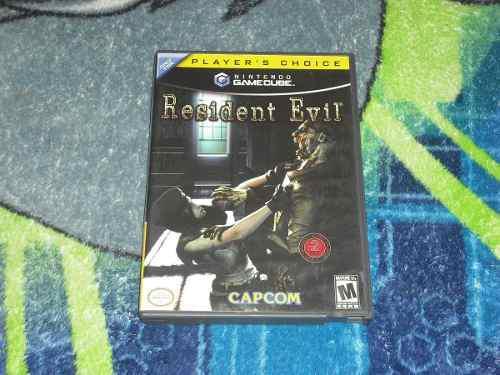 Resident Evil 1 Remake Gamecube Game Cube Muy Buen Estado.